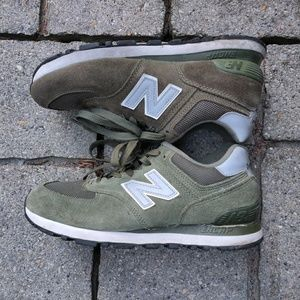 New Balance Women's Olive Green Sneakers US 7.5